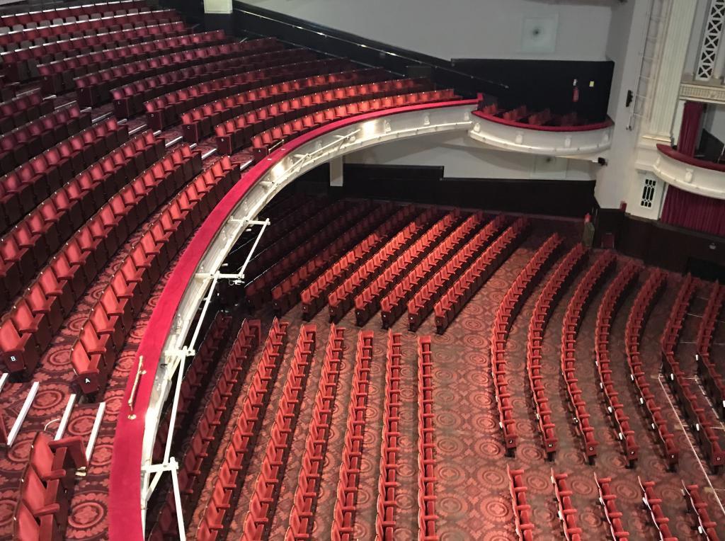 Edinburgh Playhouse – House Lighting Upgrades – Push The Button